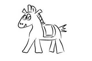 馬 イラスト かわいい